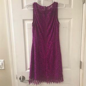 Laundry By Shelli Segal Dresses - Laundry by Shelli Segal fuscia lace dress